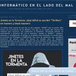 Prensa: colaboración con el blog de Chema Alonso